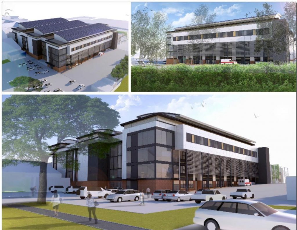 Proposals for new multi-million hospital building to be shared