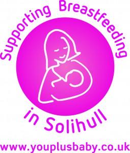 Breast feeding solihil logo