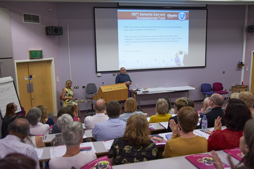 Carers recognised at emotional conference at Solihull Hospital