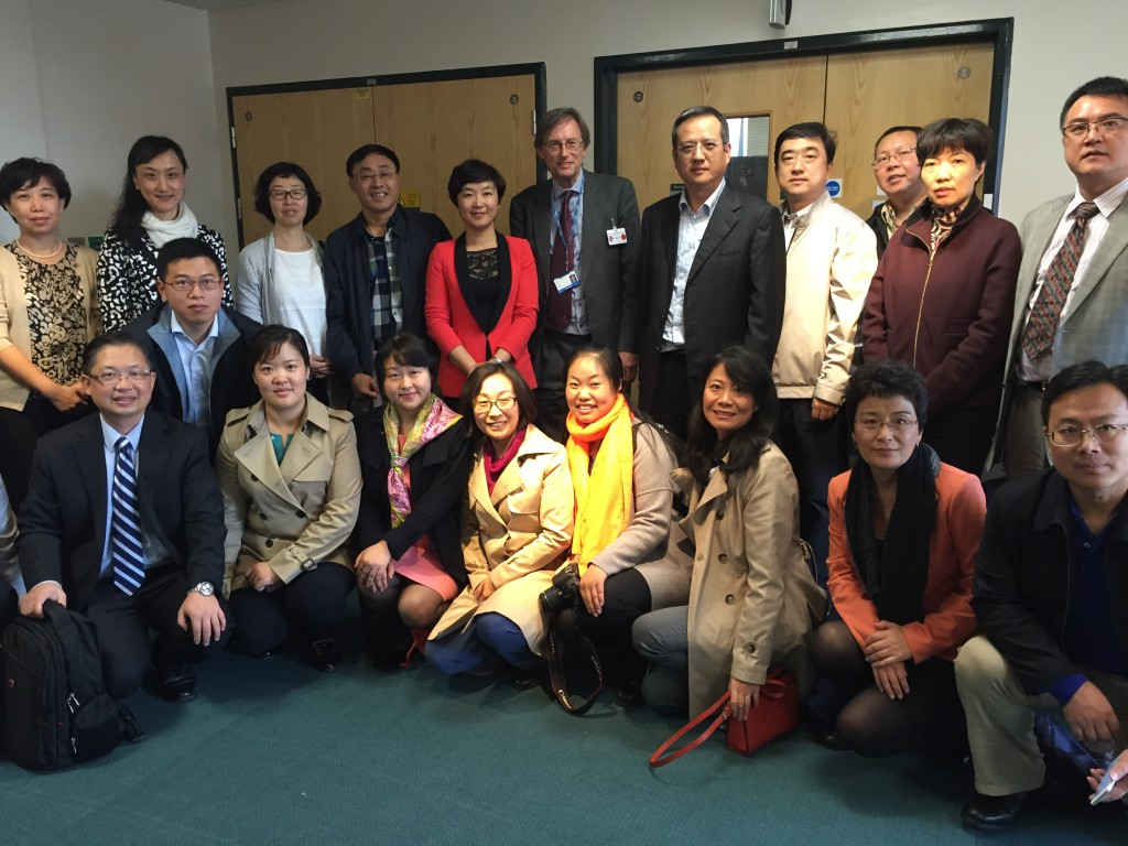 Chinese decision makers meet specialists in Hospital knowledge sharing visit