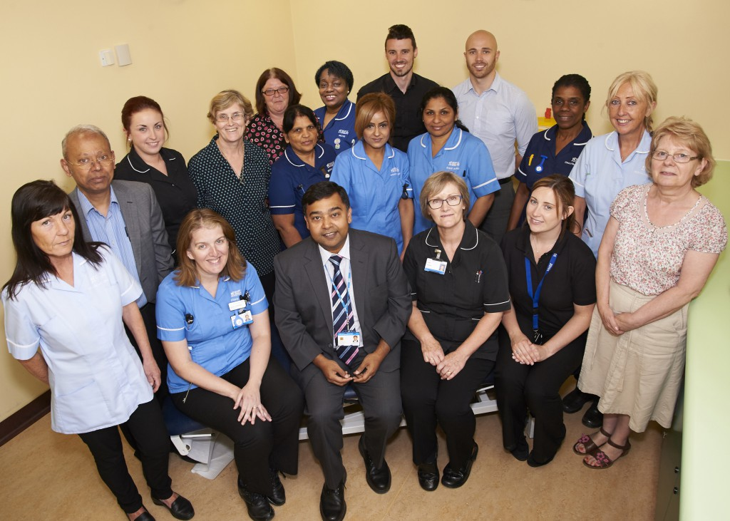 A hospital service with an eye for quality has landed a top award for its outstanding work