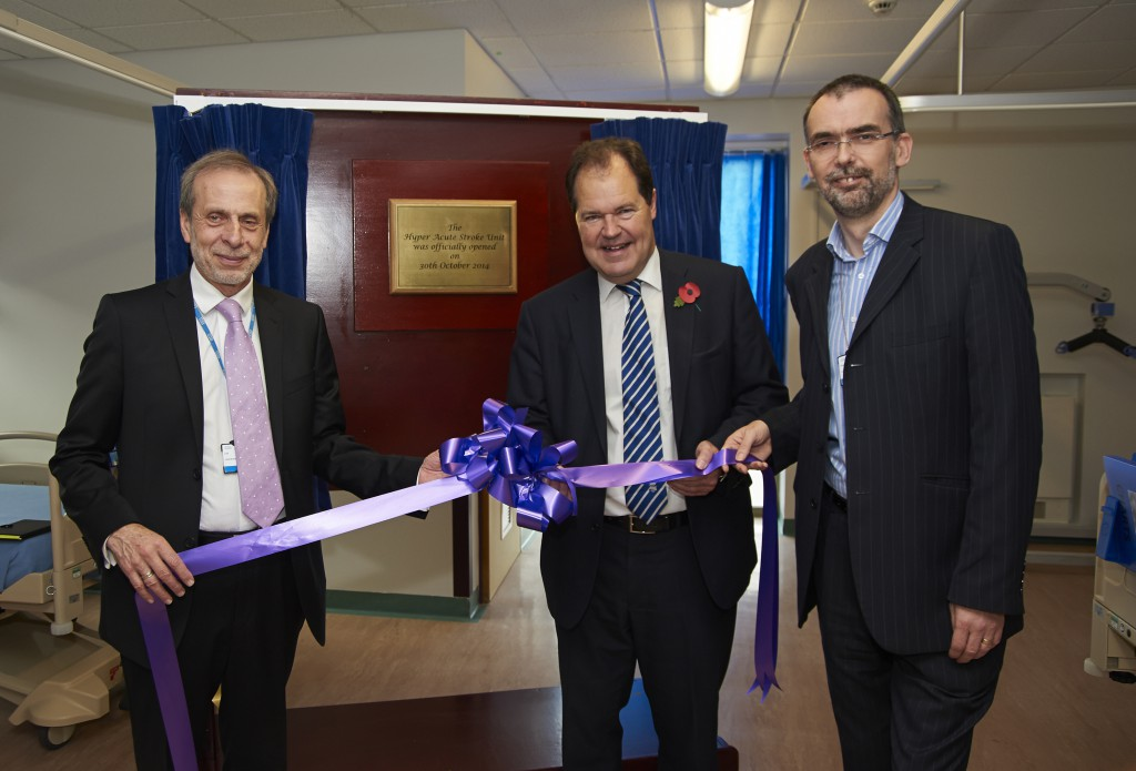New specialist stroke unit opens as part of improvements to vital service