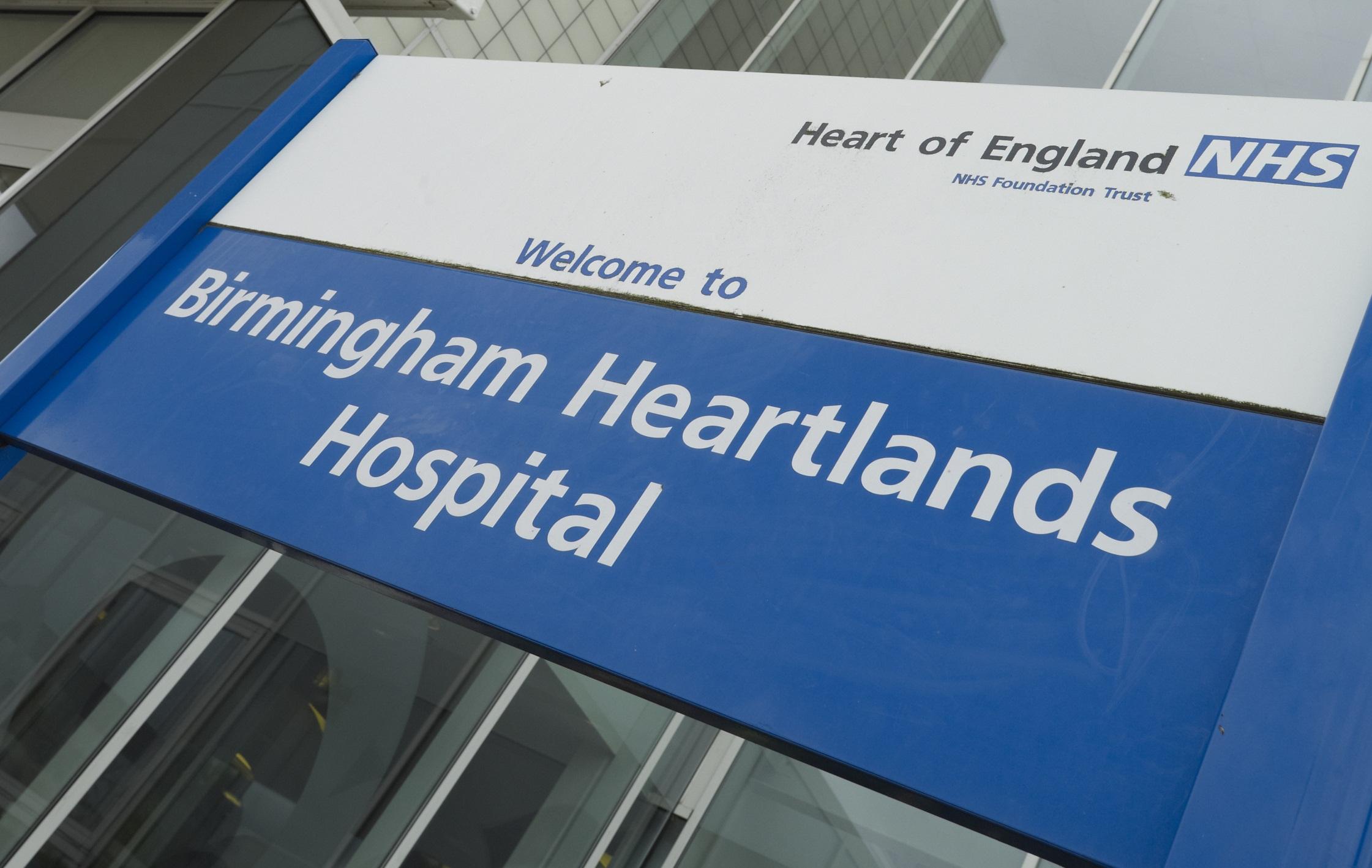 Heartlands Hospital charity Christmas arts sale  b9a75bc33