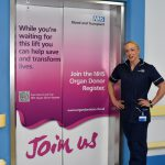 Heartlands Hospital helps give the organ donation message a much needed lift