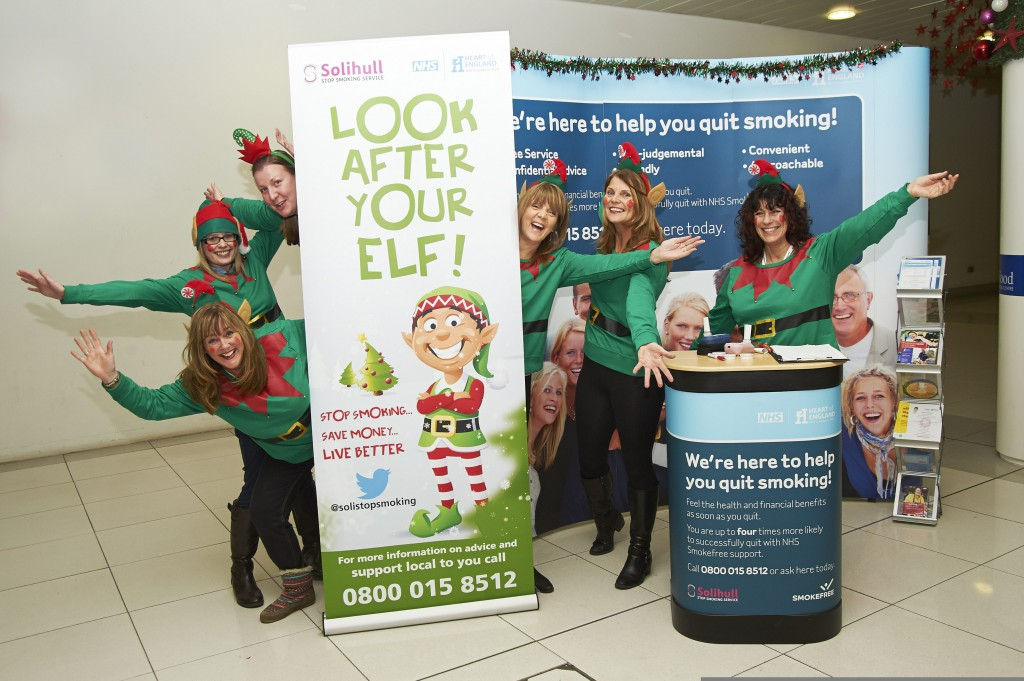 'Look after your elf' with Solihull Stop Smoking Service
