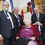 100-year-old hospital stalwart cuts ribbon on hub named in her honour