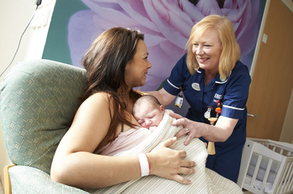 Heart of England celebrates International Day of a Midwife