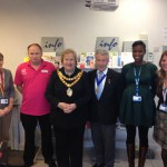 Mayor impressed after visit to You+ healthy lifestyle shop