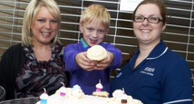 Birthday Celebrations for some of Heartlands' smallest patients