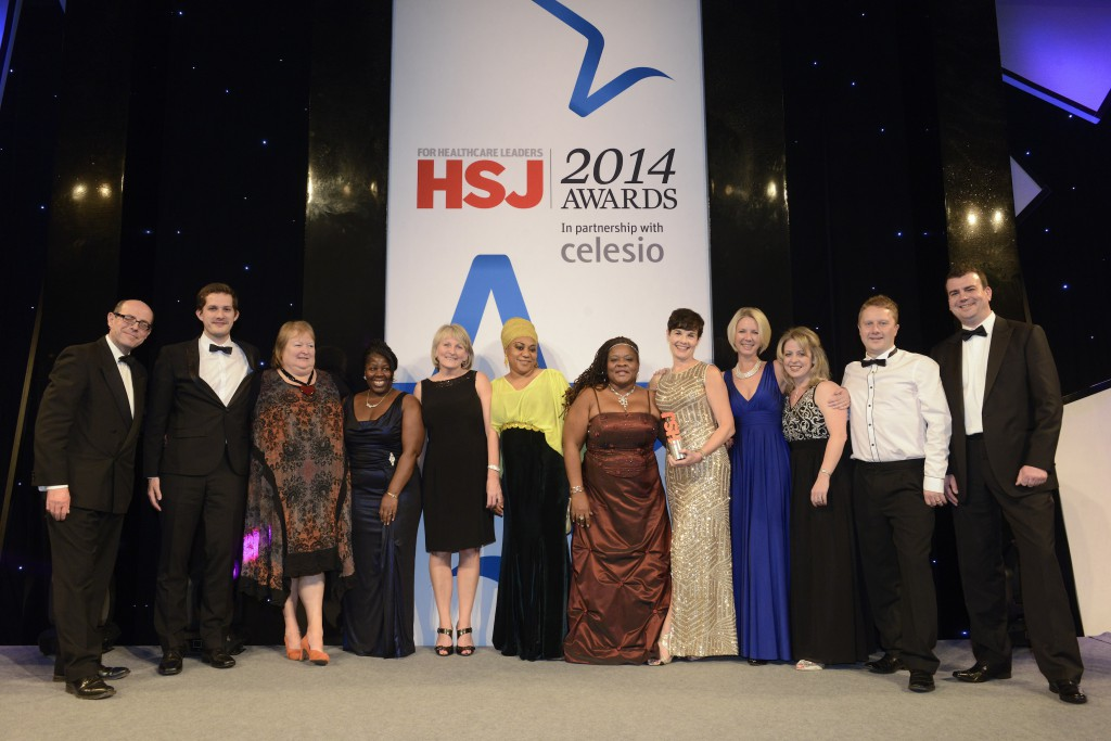 Major award win for pioneering health team that gets patients home sooner