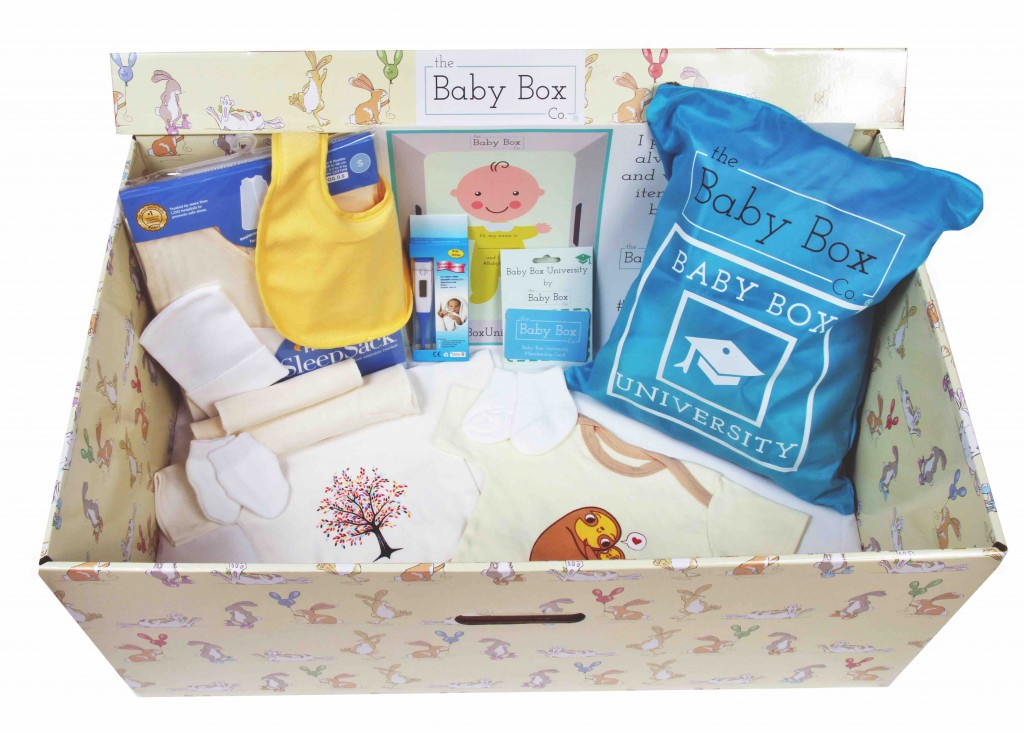 Baby Box launch event