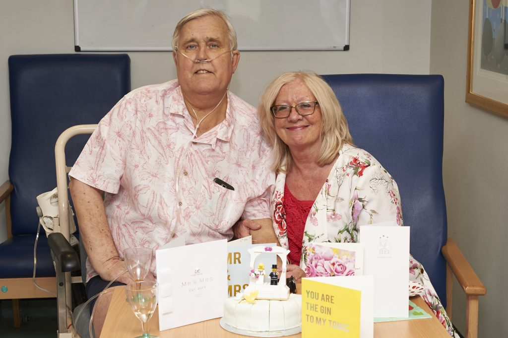 Joy and tears as Sutton Coldfield couple marry on Good Hope Hospital ward