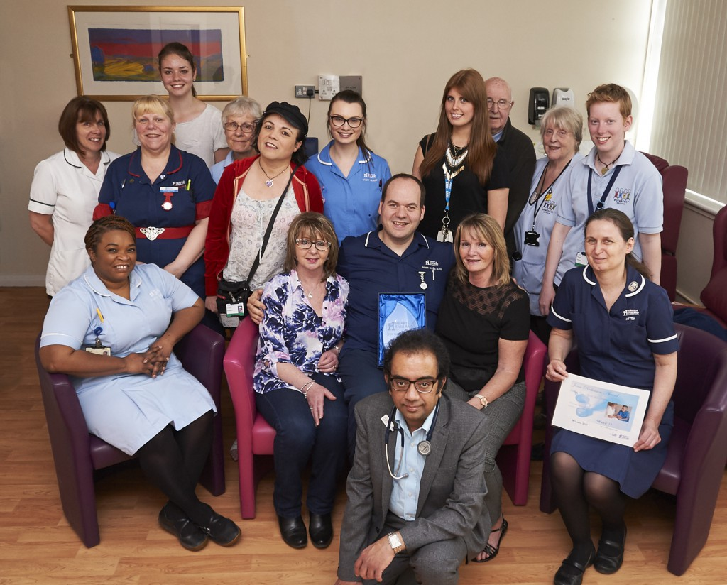 Excellent care award presented to Good Hope elderly care team for second successive year