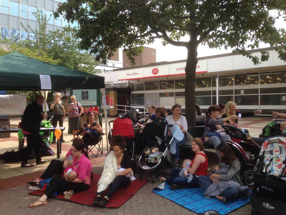 Solihull mums learn how to be simply the breast for global record attempt