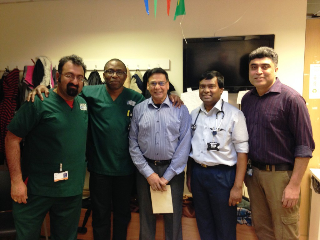 Long-serving doctor bids farewell to the hospital he made home