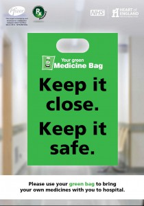 green bag poster