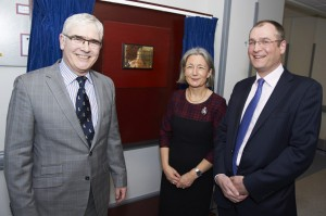 A trailblazing surgeon who became the first female President of the Royal College of Surgeons has 'cut the ribbon' on a state-of-the-art operating theatre at a Birmingham hospital which is already providing great benefits to patients.
