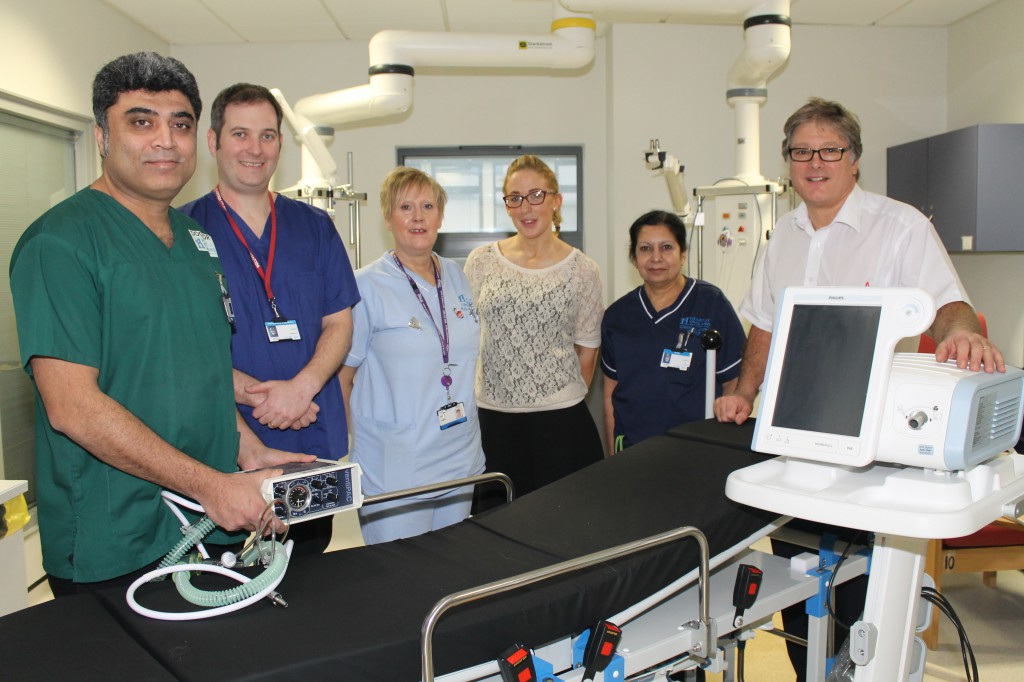 New equipment for organ donation teams