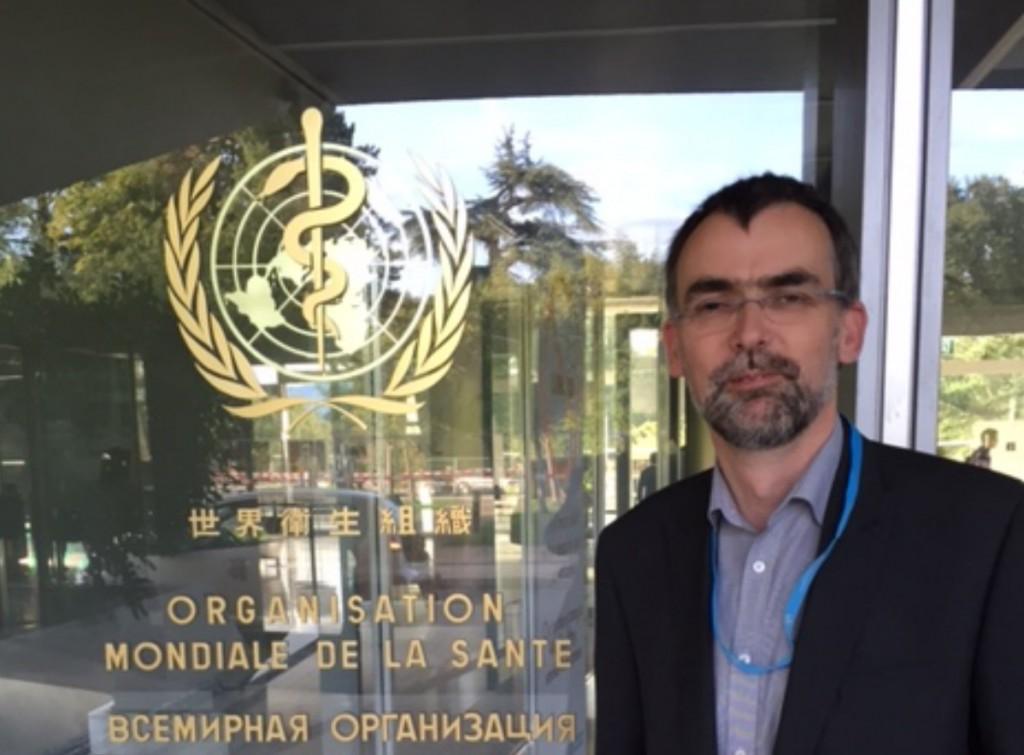 Birmingham hospital leader represents UK at World Health Organisation