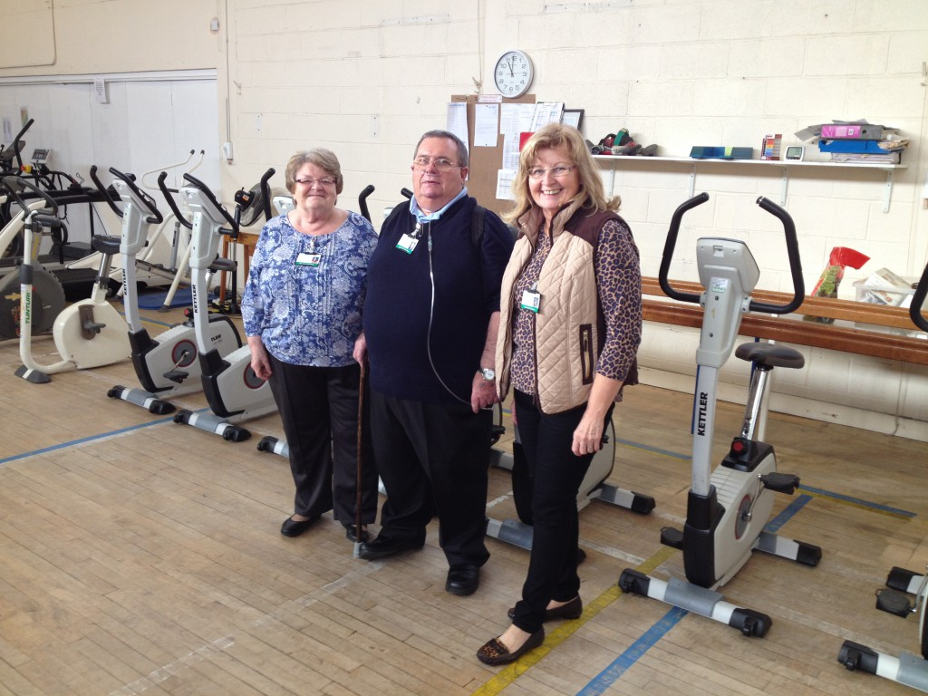Lung patients to act as 'buddies' to help others through rehab