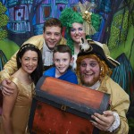 Swashbuckling fun as Robinson Crusoe entertains hospital's children's unit