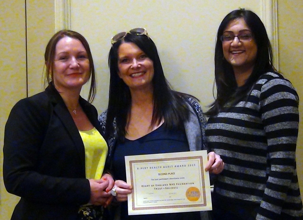 Double award triumph for successful Solihull diabetes service